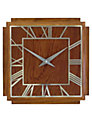 Lascelles Wooden Deco Wall Clock, 36cm