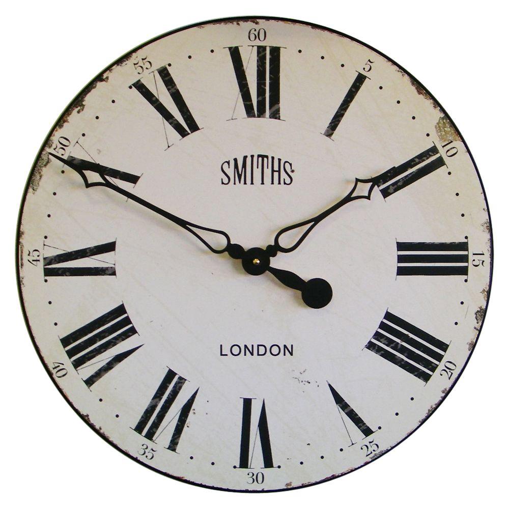 Lascelles Lascelles Smith Wall Clock, Dia.50cm