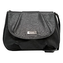 Buy Mango Pleated Flap Shoulder Bag Online at johnlewis.com