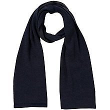 Buy Hugo Boss Sock & Scarf Gift Set, Navy Online at johnlewis.com