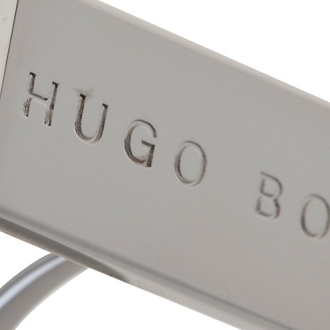 Buy Hugo Boss Timmo Classic Rectangular Cufflinks, Metallic Online at johnlewis.com