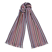 Buy Hugo Boss Knitted Stripe Scarf Online at johnlewis.com