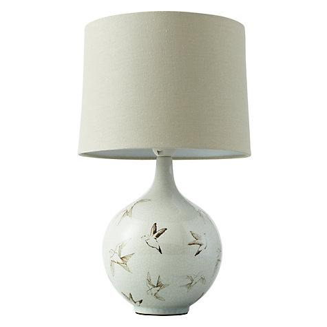 Buy John Lewis Passerine Bird Ceramic Table Lamp Online at johnlewis.com
