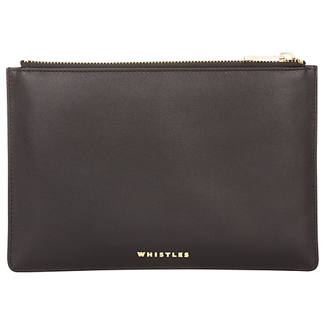 Buy Whistles Medium Clutch Pouch Handbag Online at johnlewis.com