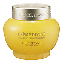 Buy L'Occitane Immortelle Divine Cream, 50ml Online at johnlewis.com