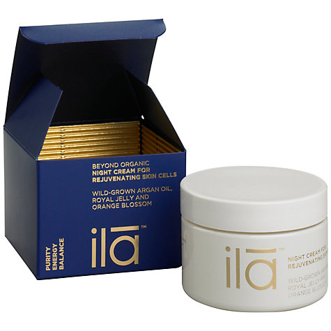 Buy Ila Spa Night Cream For Rejuvenating Skin Cells, 50g Online at johnlewis.com