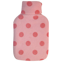 Buy Vagabond Pink Spot Hot Water Bottle Online at johnlewis.com