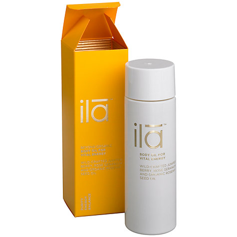 Buy Ila Spa Body Oil for Vital Energy, 30ml Online at johnlewis.com