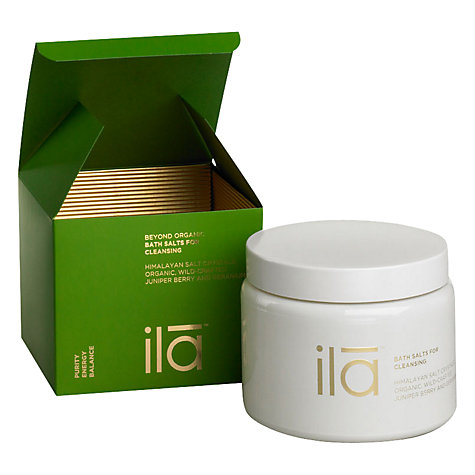 Buy Ila Spa Bath Salts For Cleansing, 500g Online at johnlewis.com