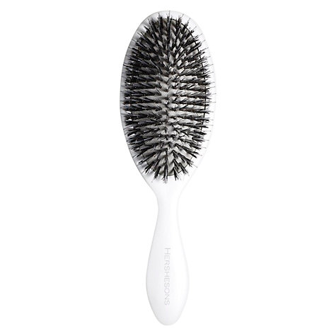 Buy Hershesons Mixed Bristle Oval Hair Brush Online at johnlewis.com