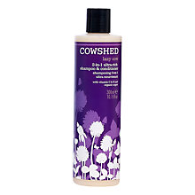 Buy Cowshed Lazy Cow 2-in-1 Rich Shampoo & Conditioner, 300ml Online at johnlewis.com