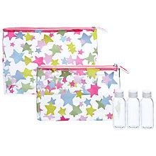 Buy Cath Kidston Holiday Wash Bags, Set of 2 Online at johnlewis.com