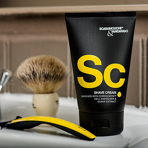 Buy Scaramouche and Fandango Shave Cream, 100ml Online at johnlewis.com