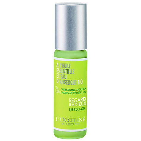 Buy L'Occitane Angelica Eye Roll-On, 10ml Online at johnlewis.com