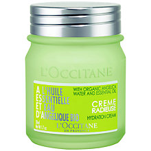 Buy L'Occitane Angelica Hydration Cream, 50ml Online at johnlewis.com