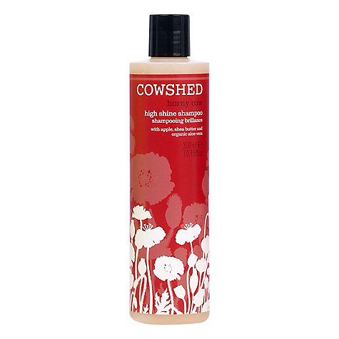 Buy Cowshed Horny Cow High Shine Shampoo, 300ml Online at johnlewis.com