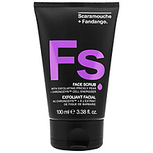 Buy Scaramouche and Fandango Face Scrub, 100ml Online at johnlewis.com