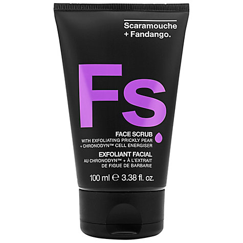 Buy Scaramouche & Fandango Face Scrub, 100ml Online at johnlewis.com