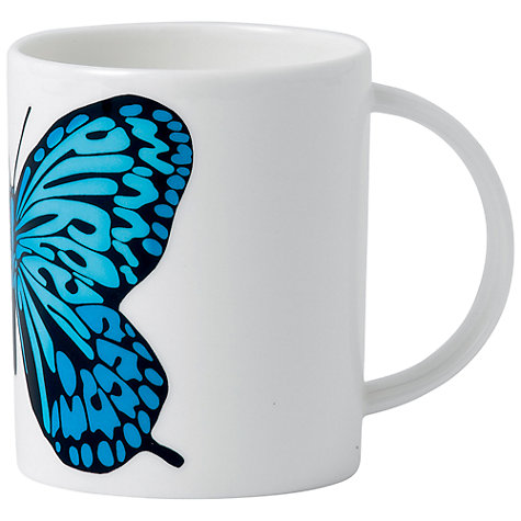 Buy Royal Doulton Street Art Pure Evil Neon Butterfly Mug Online at johnlewis.com