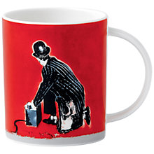 Buy Royal Doulton Street Art Nick Walker Rat Attack Mug Online at johnlewis.com