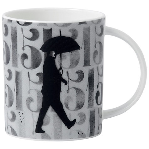 Buy Royal Doulton Street Art Nick Walker Numbers and Figures Mug Online at johnlewis.com
