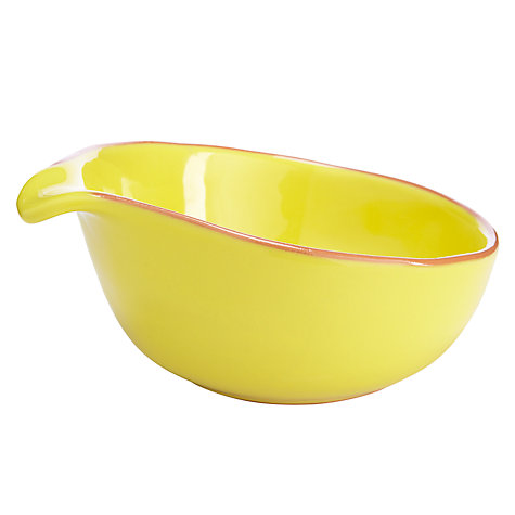 Buy John Lewis Cabo Bowl, Yellow, Dia.16cm Online at johnlewis.com