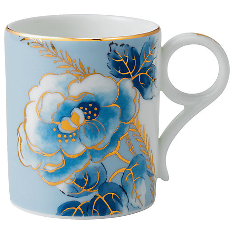 Buy Wedgwood Archive Collection Blue Peony Mug Online at johnlewis.com