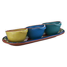 Buy John Lewis Cabo Serving Bowls, Set of 3 Online at johnlewis.com