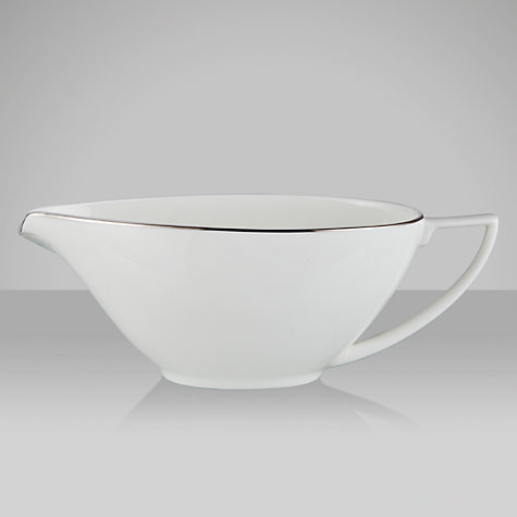 Buy Jasper Conran for Wedgwood Platinum Sauceboat Online at johnlewis.com