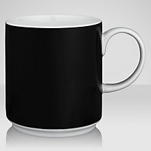 Buy House by John Lewis Marbles Black Mug Online at johnlewis.com