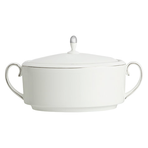 Buy Vera Wang for Wedgwood Blanc sur Blanc Soup Tureen Online at johnlewis.com