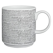 Buy House by John Lewis Marbles Stitch Mug Online at johnlewis.com