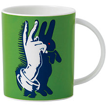 Buy Royal Doulton Street Art Pure Evil Bunny Fingers Mug Online at johnlewis.com