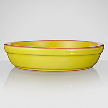 Buy John Lewis Cabo Chip & Dip Dish, Citron, Dia.16cm Online at johnlewis.com