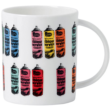 Buy Royal Doulton Street Art Nick Walker Spray Can Mug Online at johnlewis.com