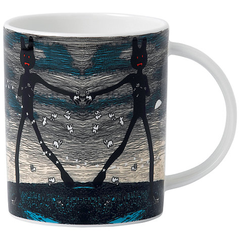 Buy Royal Doulton Street Art Pure Evil East End Tagger Mug Online at johnlewis.com