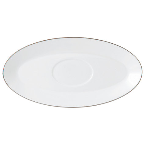 Buy Jasper Conran for Wedgwood Platinum Sauceboat Stand Online at johnlewis.com