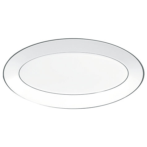 Buy Jasper Conran for Wedgwood Platinum Oval Serving Dish Online at johnlewis.com