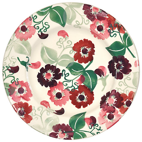 Buy Emma Bridgewater Zinnias Dessert Plate Online at johnlewis.com