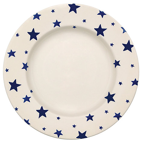 Buy Emma Bridgewater Starry Skies Dessert Plate, Dia.26.5cm Online at johnlewis.com