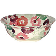 Buy Emma Bridgewater Zinnias Cereal Bowl Online at johnlewis.com