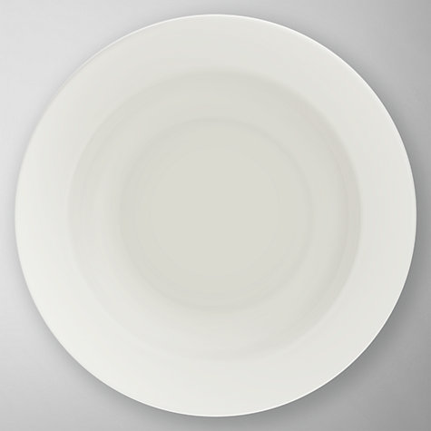 Buy Wedgwood White Soup Plate Online at johnlewis.com