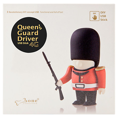 Buy Bone Collection DIY Queen's Guard USB 2.0 Flash Drive, 8GB Online at johnlewis.com