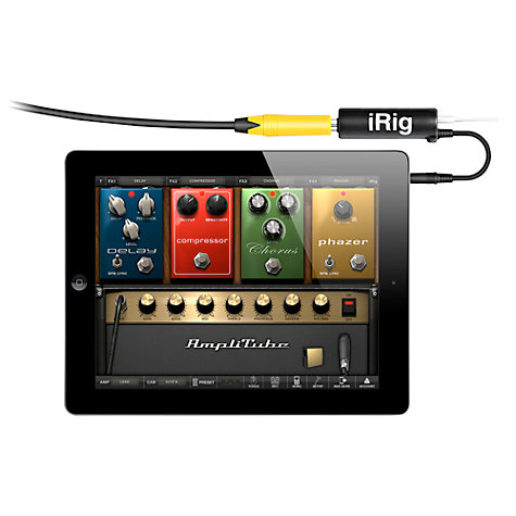 Buy AmpliTube iRig Guitar Interface Adapter for iPhone, iPad & iPod touch Online at johnlewis.com