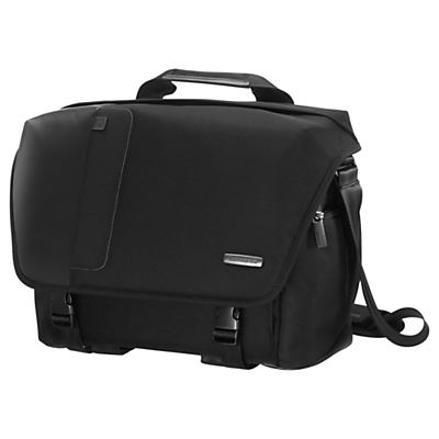 Samsonite Fotonox Camera Messenger 200 for DSLRs and Laptops up to 13.3, Black