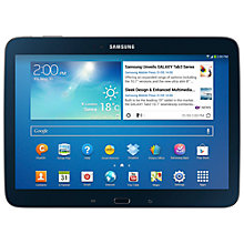 "Buy Samsung Galaxy Tab 3 10.1 Tablet, Intel Atom, Android, 10.1"", Wi-Fi, 16GB Online at johnlewis.com"