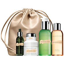 Buy Crème de la Mer Luminous Essentials Set with Free Lifting Contour Serum, 5ml Online at johnlewis.com