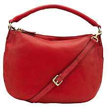 Buy John Lewis Alderney Leather Hobo Handbag Online at johnlewis.com