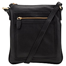 Buy John Lewis Carlyle Leather Small Square Across Body Bag Online at johnlewis.com