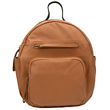 Buy Collection WEEKEND by John Lewis Chesman Leather Backpack Online at johnlewis.com